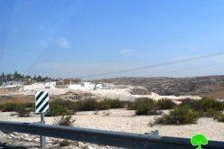 بذريعة أنها أراضي دولة, الاحتلال ينوي الاستيلاء على ( 2641 ) دونما من أراضي بلدة الظاهرية / محافظة الخليل