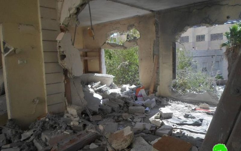 Sum of Israeli violations against the Palestinian right to Housing and Land during the Year 2015