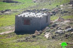 Stop-Work orders on structures in AL-Deirat village