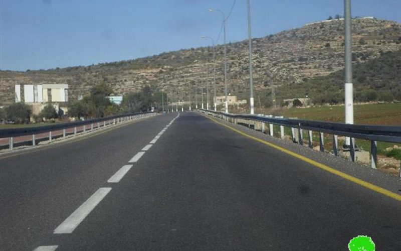 The occupation is to establish eight watchtowers on lands from Nablus suburbs