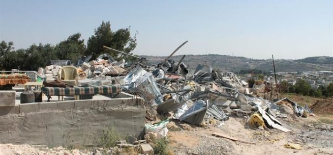 Demolition of two Palestinian Houses in Shu'fat & Jabal Al-Mukabber in East Jerusalem