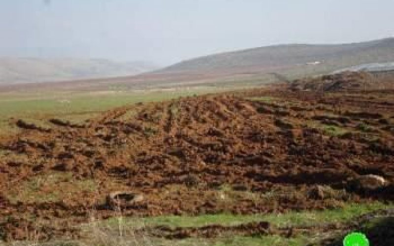 التدريبات العسكرية الإسرائيلية تدمر المزيد من أراضي الأغوار الفلسطينية