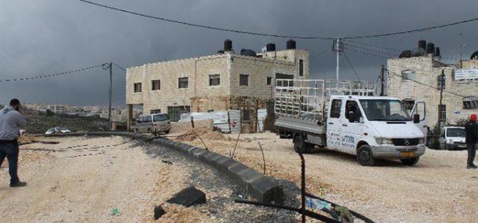 The Israeli Occupation Forces demolish two residences in Jerusalem