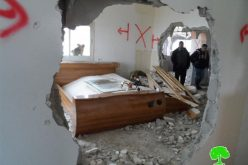 """""""Security demolition: A policy that targets Palestinians and excludes colonists"""" <BR> A collective punishment that left 24 residences entirely demolished and other 44 partially destroyed"""