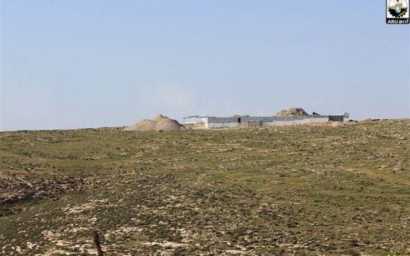 המתנחלים בונים כביש עוקף חדש על אדמות הכפר כיסאן