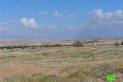 ما تسمى بمزرعة عمير الإسرائيلية تنهش مزيدا من أراضي المواطنين في منطقة رأس العوجا / محافظة أريحا