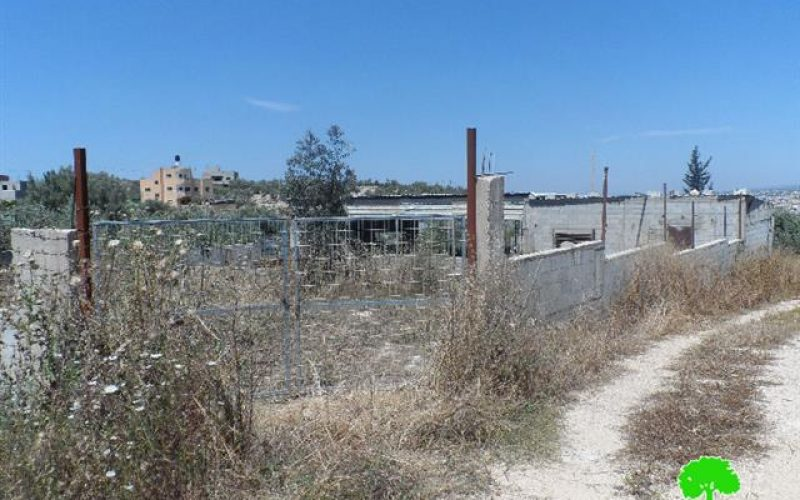 """Additional opportunity to object demolition"" orders served in Tulkarm"