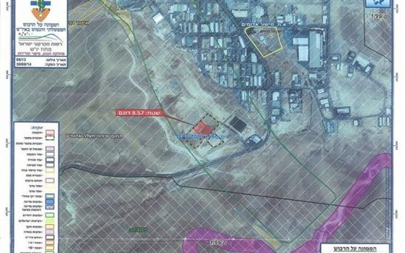 Israel Unveils new tenders in Mishor Adumim Industrial settlement in Jerusalem