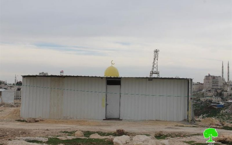 An Israeli occupation court ruled the demolition of eleven residences and a mosque in Jabal AL-Baba Bedouin community