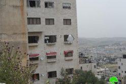تحت ذريعة الأمن الاحتلال لاسرائيلي يهدم و/أو يغلق 33 مسكناً منذ بداية الانتفاضة <br>  الاحتلال الإسرائيلي يهدم منزل الأسير زيد زياد عامر في مدينة نابلس