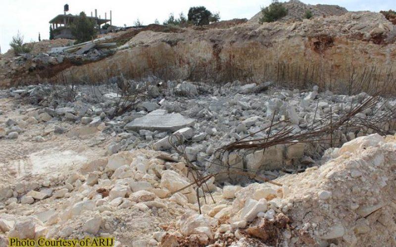 New Israeli Targeting in Al-Walajeh village northwest of Bethlehem Governorate