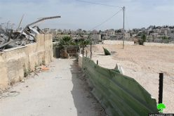 Israeli occupation municipality in Jerusalem demolishes a residence in Shufat town to open a bypass road