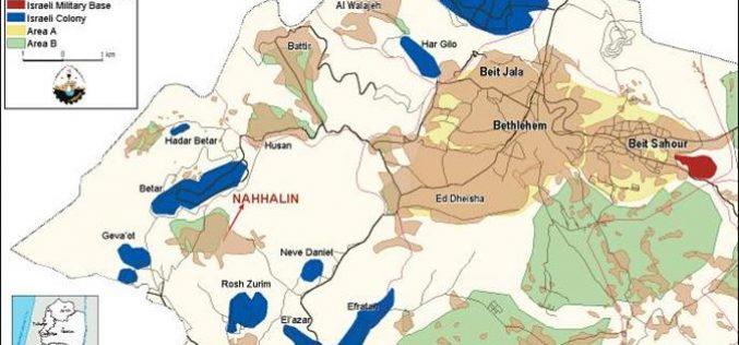 The Encirclement Of Nahalin Village