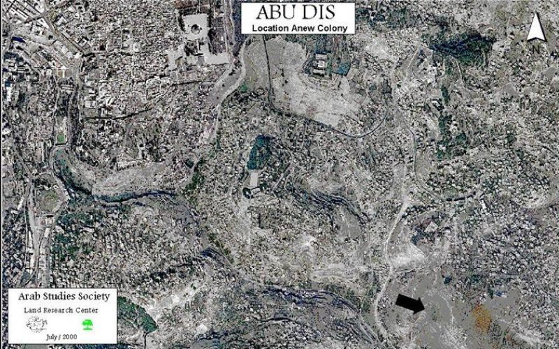 An Attempt to Establish a New Jewish settlement on the Land of Abu Dis