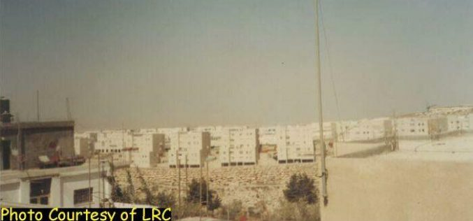 Israeli Occupation Forces Re-Occupy Shu'afat Camp and Destroy Three Houses