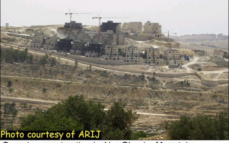 Israeli Colonization Continues Unhindered