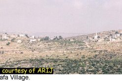 The Difficulties for Umm Safa Village during the Intifada
