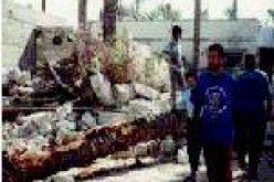 House demolition in Rafah- Gaza