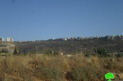الاحتلال الاسرائيلي يشرع في اقامة مقبرة لليهود بجانب مستعمرة ارائيل