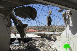 هدم 40 مسكناً بذريعة الأمن منذ بداية انتفاضة القدس <br>الاحتلال الإسرائيلي يهدم منزلاً في بلدة قباطية