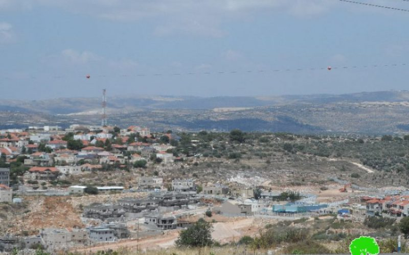 Expansion works on Revava colony at the expense Salfit lands