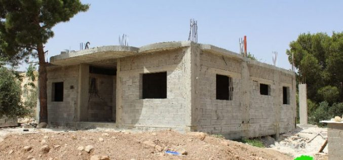 Stop-Work orders on houses in southern Hebron governorate