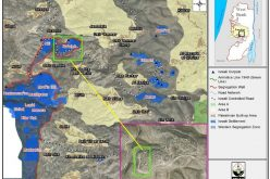 The settlement of Na'aleh expands on lands of Deir Qiddis