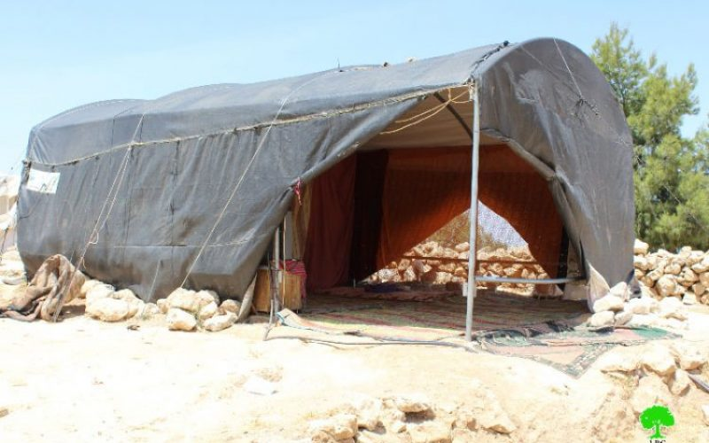 Stop-Work orders on residential and agricultural structure in the Hebron Hamlet of Susiya