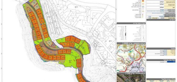 Israeli Plan to build 770 housing units in the Israeli Settlement of Gilo