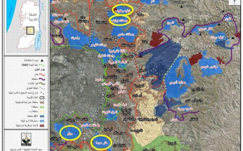 تصاعد دراماتيكي في الاستيطان الاسرائيلي في الاراضي الفلسطينية  طرح عطاءات لبناء 323 وحدة سكنية في 4 مستوطنات بالقدس المحتلة