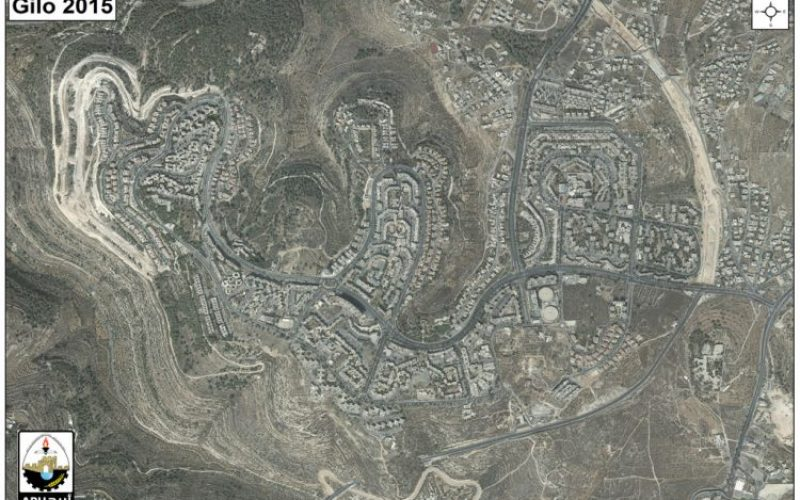 Israeli Authorities advance a huge Plan in Gilo settlement to build more than 2500 housing units