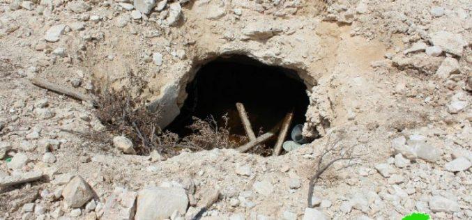 تجريف أراضي واقتلاع أشجار وهدم بئر ببلدة دورا بمحافظة الخليل
