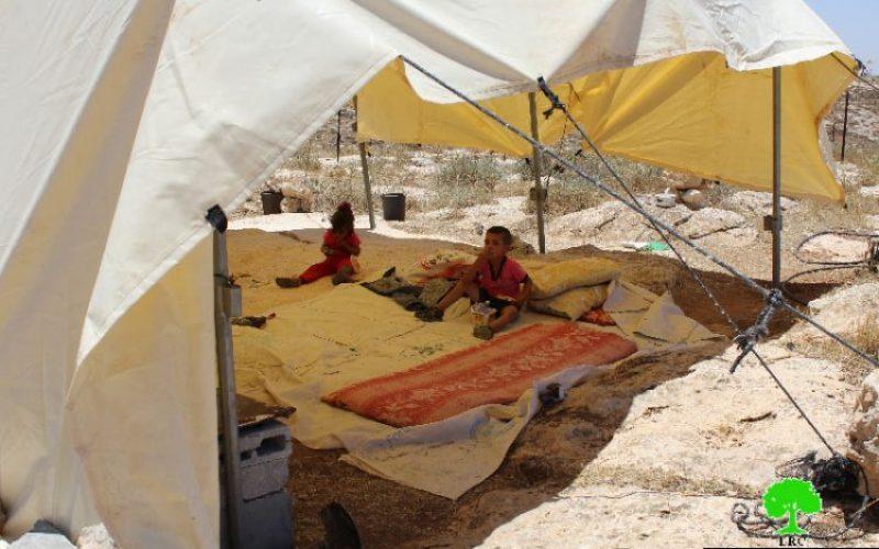 """الاحتلال يهدم مساكن ومنشأة زراعية في """"وادي جحيش"""" جنوب يطا"""