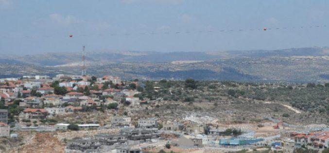 """مستعمرة """"رفافا"""" تتوسع على حساب أراضي بلدتي حارس ودير استيا في محافظة سلفيت"""