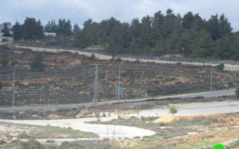 إخطار بمصادرة أراض من مدينة البيرة بهدف إقامة برج عسكري