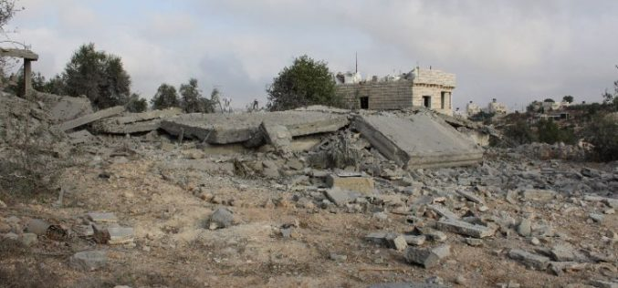 الاحتلال يفجر مسكناً في بلدة دورا بمحافظة الخليل بذريعة أمنية