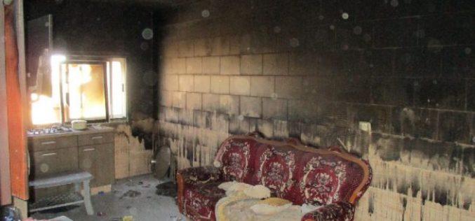 مستعمرو تدفيع الثمن يحرقون منزلا ً لعائلة الدوابشة في قرية دوما
