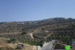 """الاحتلال يواصل نهب الأراضي لصالح مستعمرة """" الفيه منشيه"""""""