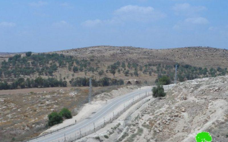 الاحتلال يشرع بتحصين الجدار جنوب الخليل