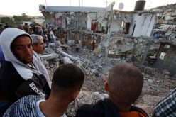 Israeli Occupation Forces demolish a building on security claims