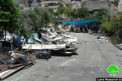 Demolition campaign on structures of the Jerusalem towns of Silwan and Beit Hanina