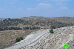 The Israeli occupation fortifies the apartheid west Hebron