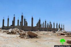 إخطار بوقف العمل في منشأة زراعية بوادي جحيش شرق السموع