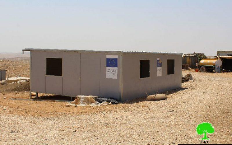 الاحتلال يهدد بهدم 5 مساكن في خربة أم الخير شرق يطا