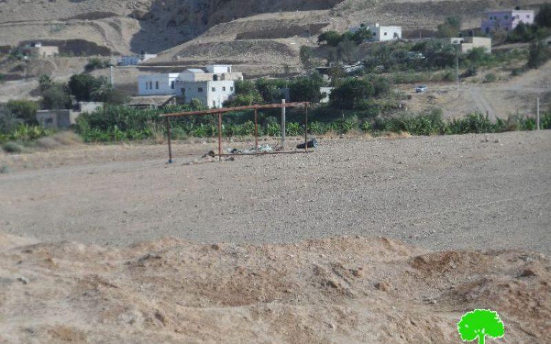 Stop-Work orders in the Jericho area of Al-Nuwei'ma