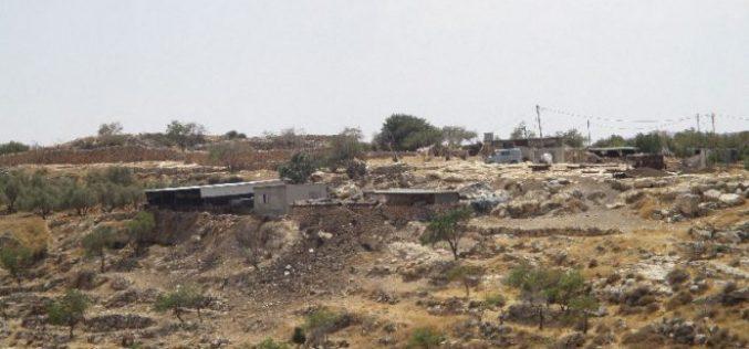 الاحتلال الإسرائيلي يصدر قرار بمصادرة 4 دونم من أراضي خربة المراجم جنوب شرق مدينة نابلس