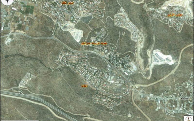 ايداع مخططات اسرائيلية جديدة لتوسيع مستوطنة الكاناه