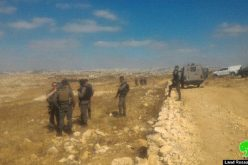 Israeli Occupation Forces demolish water well in the Hebron hamlet of Um Nir