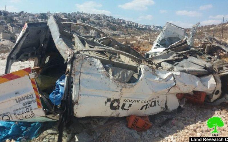جرافات الاحتلال تهدم خيمة وتجرف أرض زراعية في قرية صور باهر جنوب مدينة القدس المحتلة