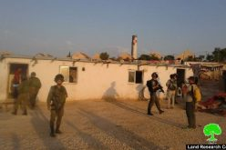 Israeli Occupation Forces demolish two residences and cultural center in the Hebron hamlet of Um Al-Kheir